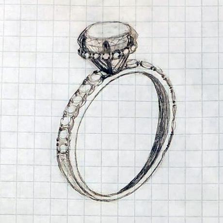 Custom Ring Design Step 1